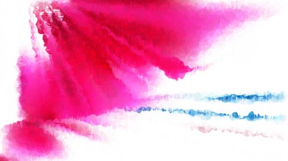 Pink and White Grunge Watercolor Background