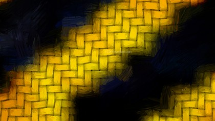 Black and Yellow Grunge Texture Background Image