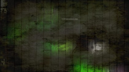Green and Black Grunge Background