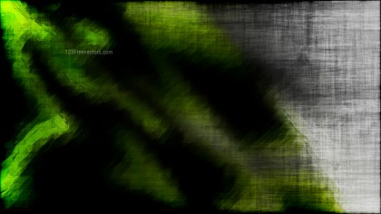 Abstract Green and Black Grunge Background