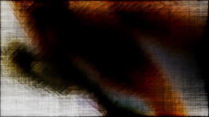 Abstract Orange Black and White Grunge Background Texture