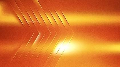 Shiny Bright Orange Metallic Texture