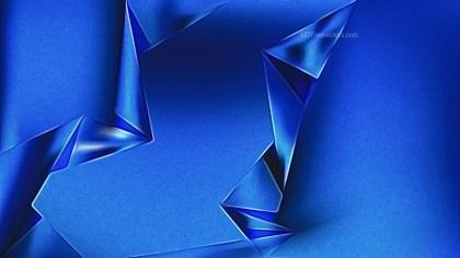 Cobalt Blue Metal Background