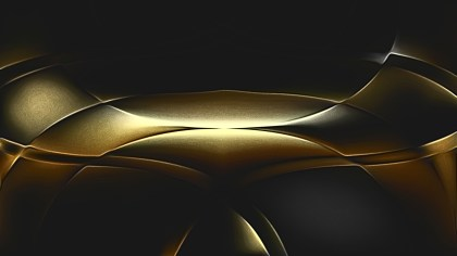 Shiny Cool Gold Metal Background