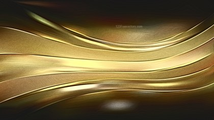 Abstract Shiny Cool Gold Metallic Background