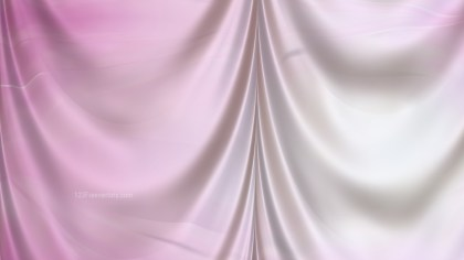 Abstract Pink and White Satin Curtain Background Texture