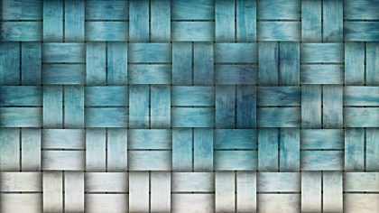 Blue and White Basket Twill Texture Background