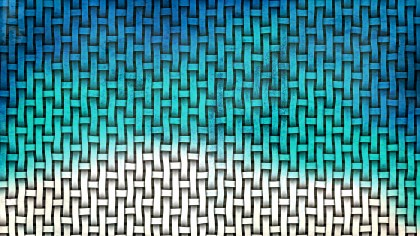 Blue and White Weave Texture Background
