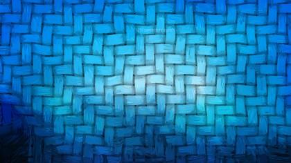 Dark Blue Woven Basket Texture