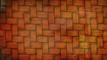 Dark Orange Basket Weave Background