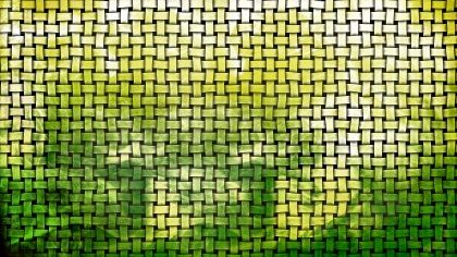 Green and White Basket Weave Background