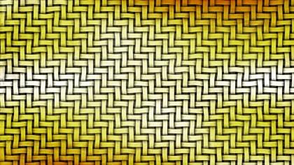 Orange and White Basket Weave Background