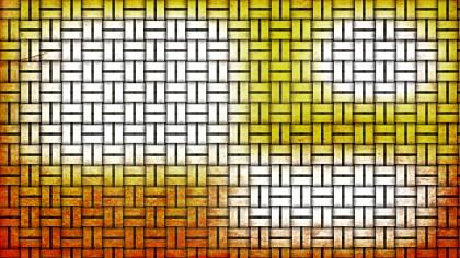 Orange and White Bamboo Background