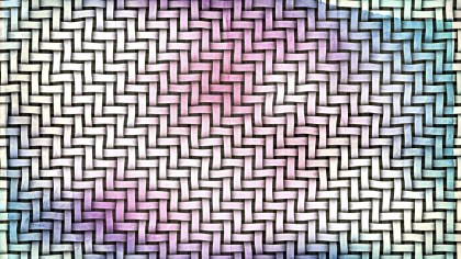 Pink and Blue Weave Texture