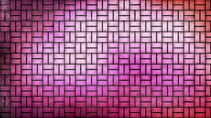 Pink and White Weave Background