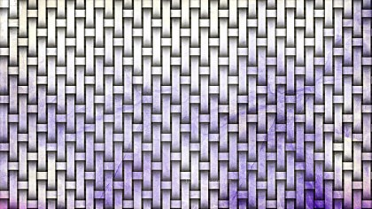 Purple and White Wicker Twill Weave Background Texture