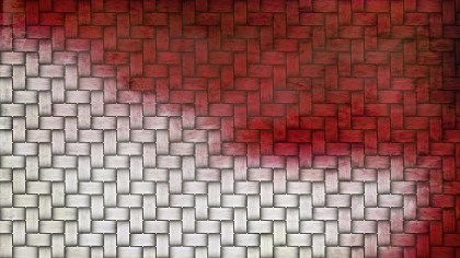 Red and White Basket Background