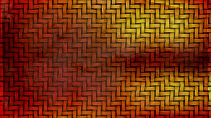 Red and Yellow Woven Basket Texture Background