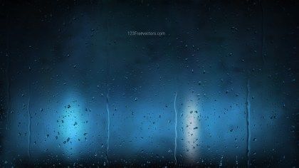Black and Blue Raindrop Background
