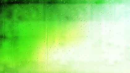 Green and White Watery Background