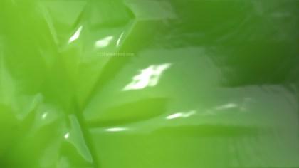 Green Wrinkled Plastic Background