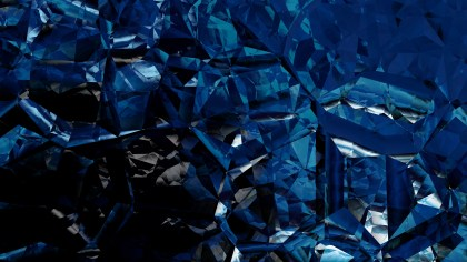 Black and Blue Abstract Crystal Background Image