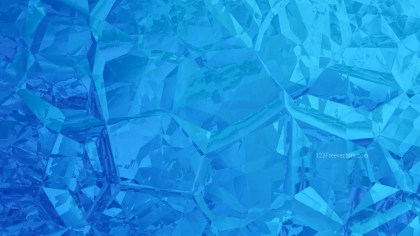 Blue Crystal Abstract background