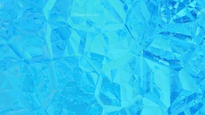 Abstract Bright Blue Crystal Background Image