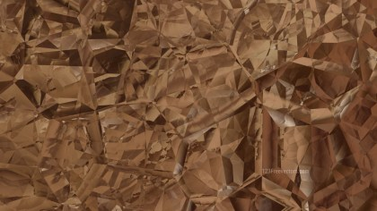 Brown Crystal Abstract background