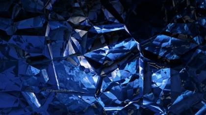 Cool Blue Crystal Background Image