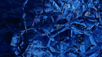 Cool Blue Crystal Abstract background