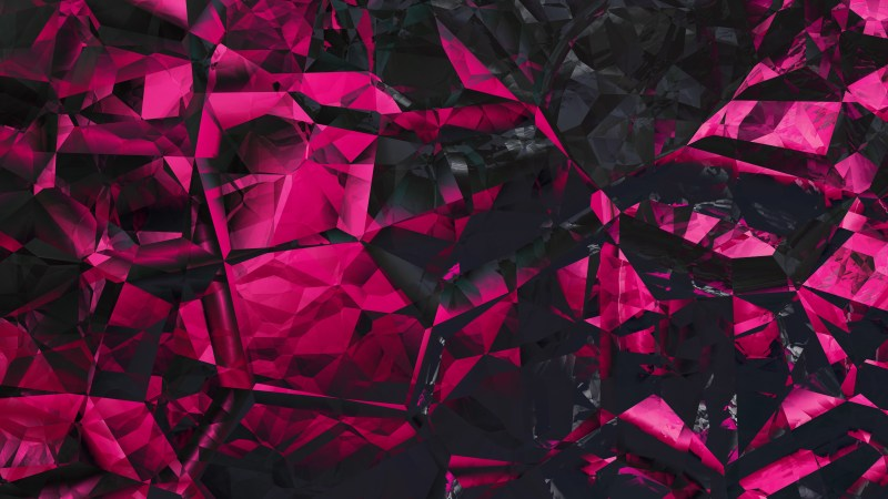 Abstract Cool Pink Crystal Background