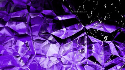 Abstract Cool Purple Crystal Background Image