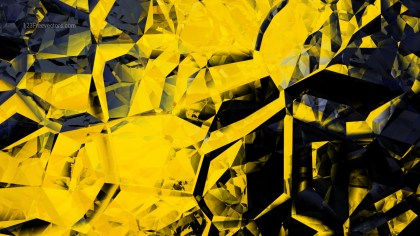 Cool Yellow Crystal Background Image