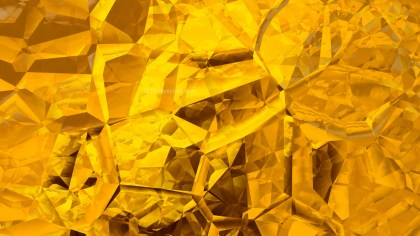 Abstract Gold Crystal Background Image
