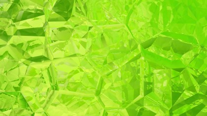 Green and Yellow Crystal Abstract background