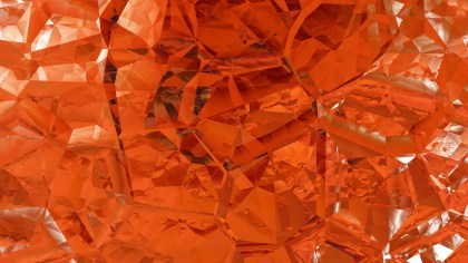 Orange Abstract Crystal Background