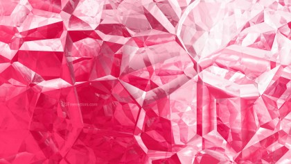 Abstract Pink and White Crystal Background