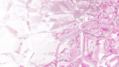 Abstract Pink and White Crystal Background Image