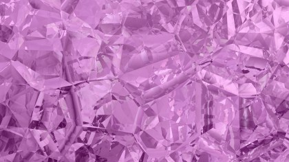 Purple Abstract Crystal Background