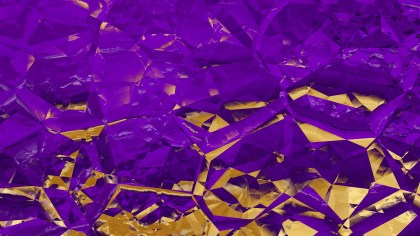 Purple and Gold Crystal Background