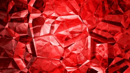 Red Crystal Abstract background