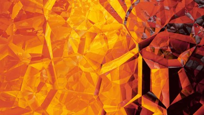 Red and Yellow Crystal Background Image