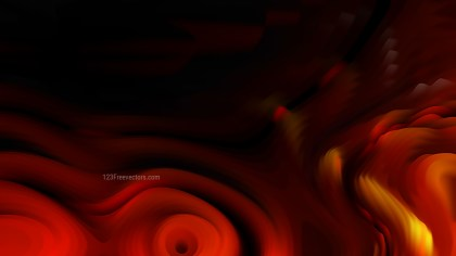 Abstract 3d Cool Orange Curved Lines Texture