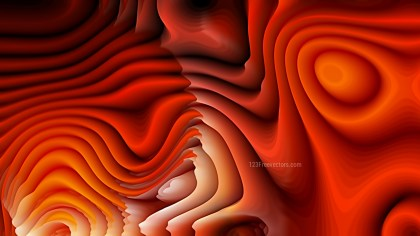 Abstract Dark Orange Curvature Ripple Background