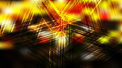 Black Red and Yellow Intersecting Lines background