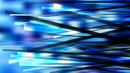 Blue Black and White Chaotic Lines Background Vector