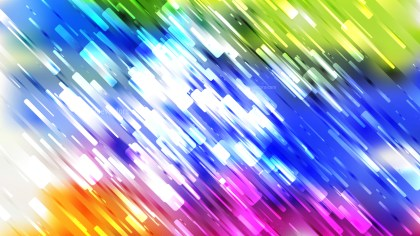 Colorful Chaotic Random Lines Abstract Background