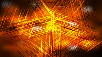 Abstract Cool Orange Overlapping Lines Background