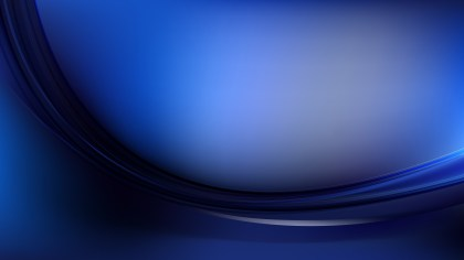 Black and Blue Abstract Wavy Background